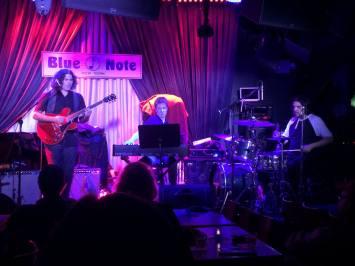 Julian Coryell, Adam Klipple, Adrian Harpham October 2015 The Blue Note NYC